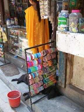 Sleeping dog in Kathmandu