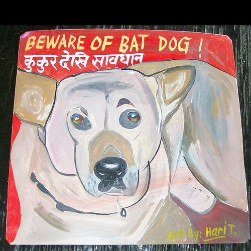 Shepherd Bat Dog by Hari T