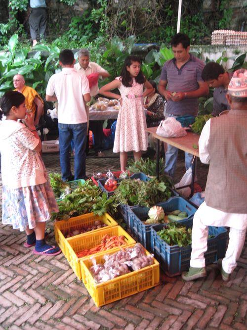Kathmandu Farmer's Market
