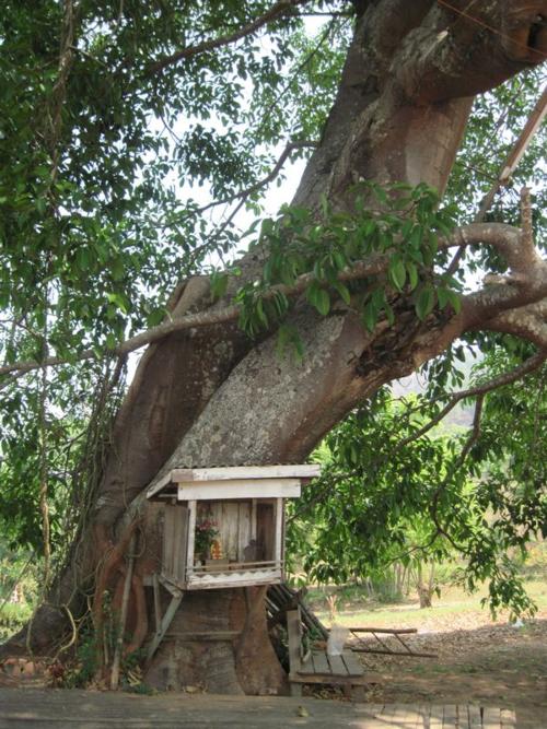 Nat house of Burma