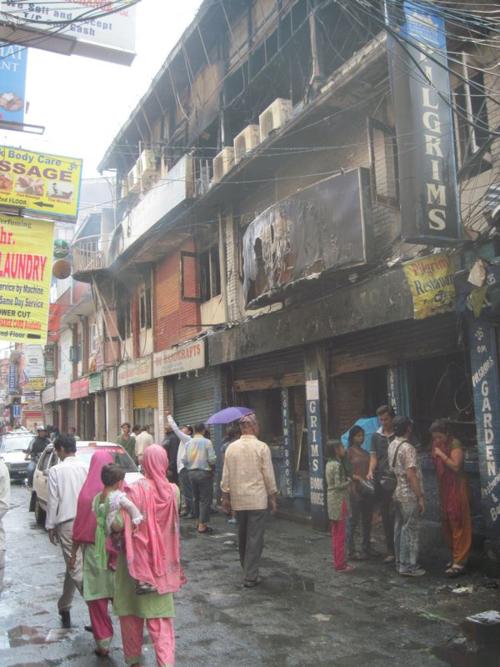 Pilgrim's Books in Kathmandu burned