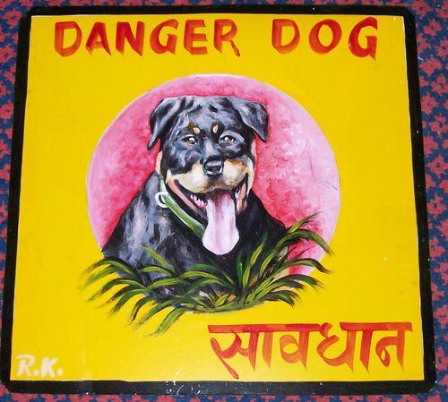 Rottweiler puppy by Ram Krishna