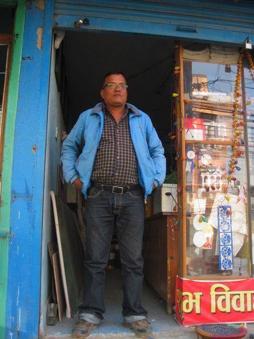 Sign Painters' studios of Nepal