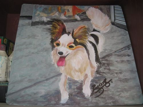 Folk Art Papillion