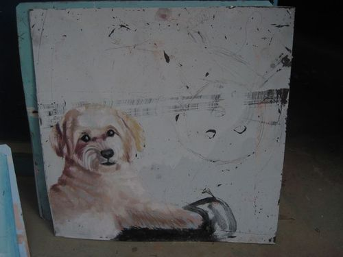Folk art Havanese