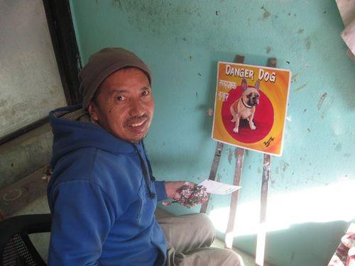 Kathmandu artist studio