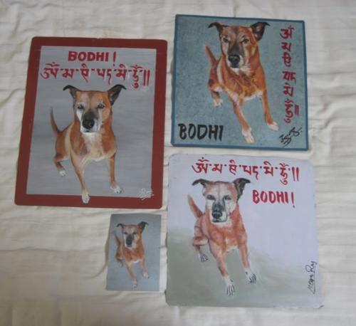 Folk art Bodhi Dog