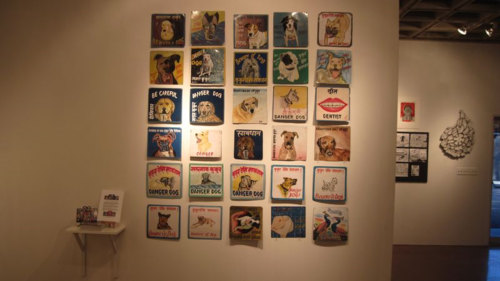 Folk art exhibit in San Diego