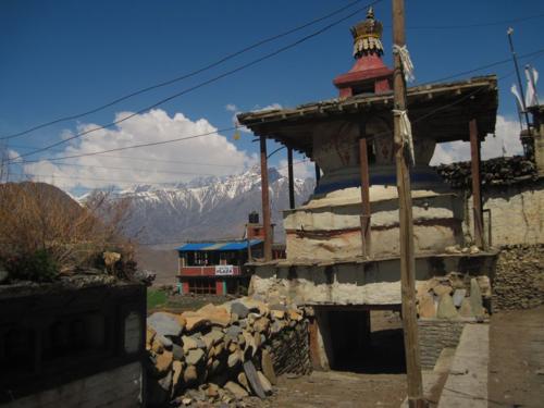 Chorten at Jharkot, Mustang, Nepal