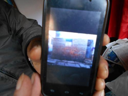 Repairs to a Nepali earthquake victim's home