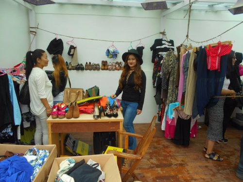 Nepal Fashion Blogger Bazaar