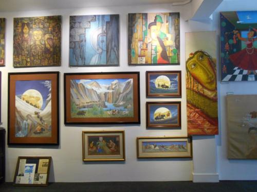 Lotus Gallery, Thamel, Kathmandu, Nepal