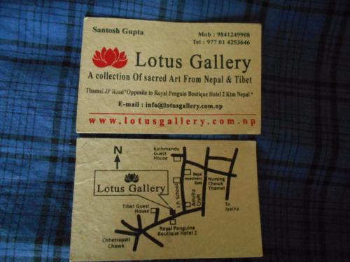 Lotus Gallery, Thamel, Kathmandu