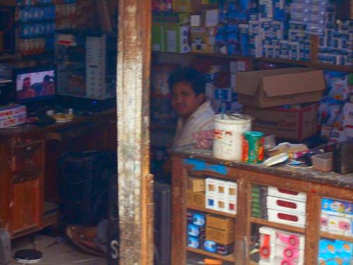 Electronics store in Darbang, Myagdi, Nepal
