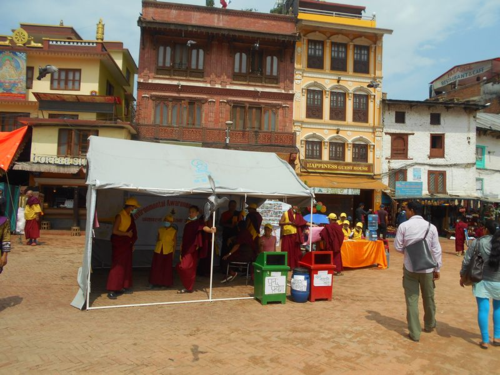 Earth Day events on the Boudha Stupa
