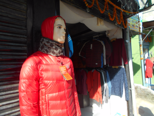 mannequin in Nepal