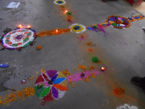 Rangolis for Laxmi Puja