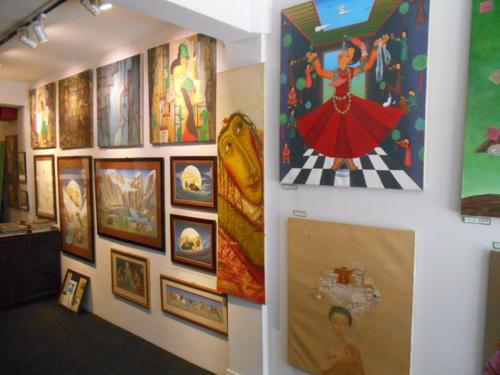 Lotus Gallery in Thamel, Kathmandu