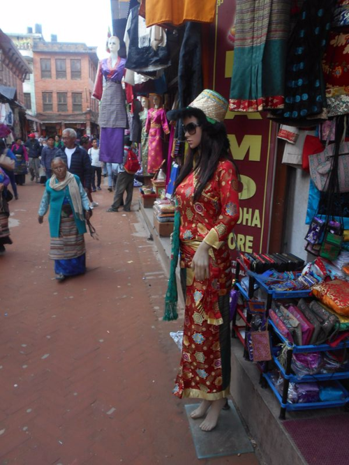 Mannequins of Nepal