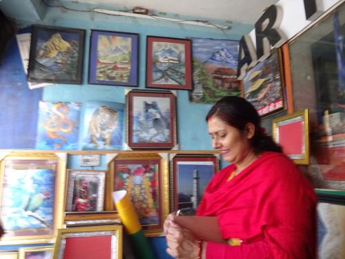 Sign board studio in Kathmandu